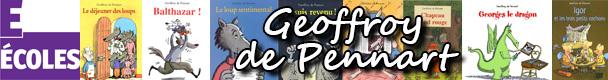 «Geoffroy de Pennart : l'univers d'un auteur», fiche pédagogique Cycle 1