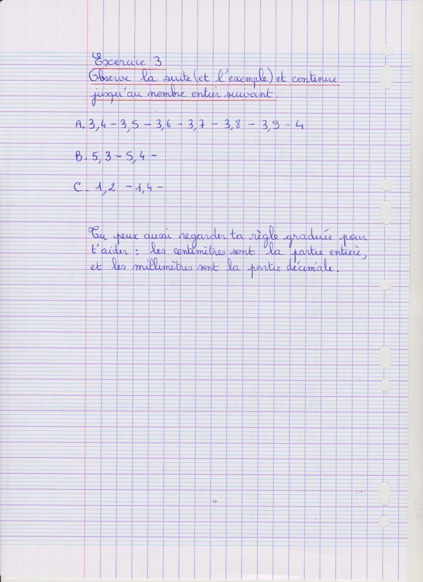 Cm1 Maths Exercice 3